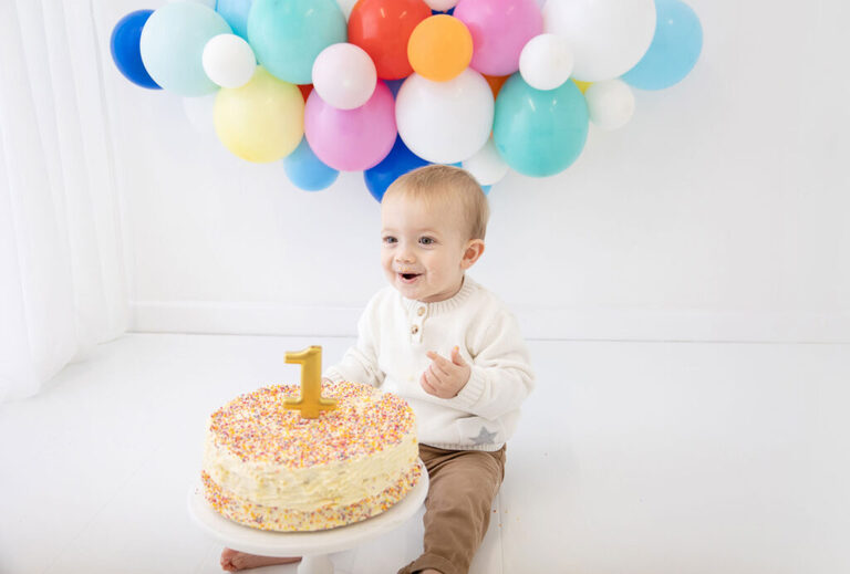 cake smash photography bournemouth